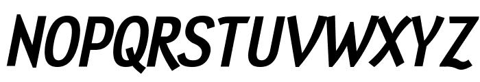 Tin Doghouse Italic Font UPPERCASE