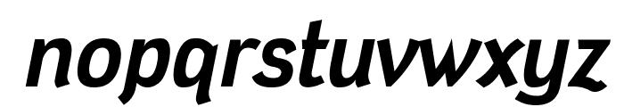 Tin Doghouse Italic Font LOWERCASE