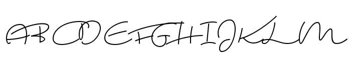 Ting Tong Font UPPERCASE