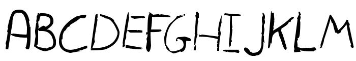 Tinga Font UPPERCASE