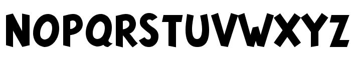 Tintin Majuscules   Bold Font UPPERCASE