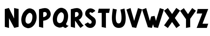 Tintin Majuscules   Bold Font LOWERCASE