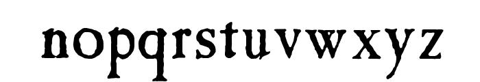 Tintinabulation Font LOWERCASE