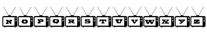 Tiny Tube Font UPPERCASE