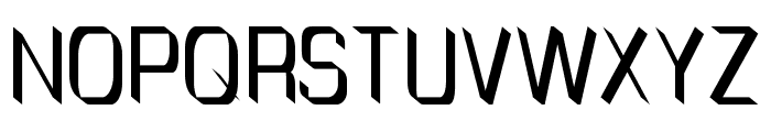 TinyPlate Font UPPERCASE