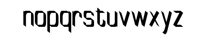 TinyPlate Font LOWERCASE