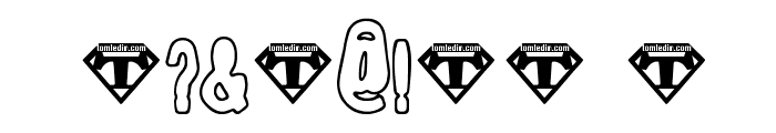 Tioem-Open Font OTHER CHARS