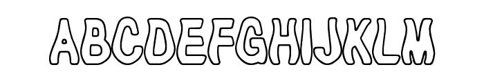Tioem-Open Font UPPERCASE