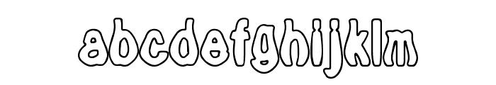 Tioem-Open Font LOWERCASE