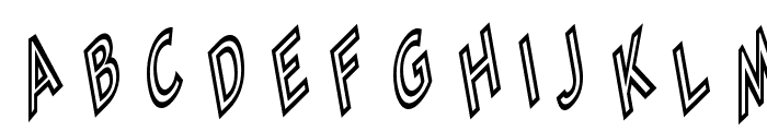 Tip Me Cheapy Font UPPERCASE