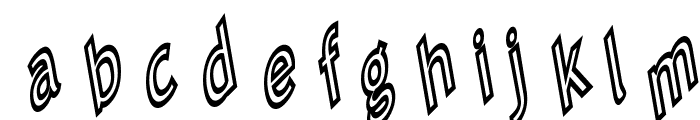 Tip Me Cheapy Font LOWERCASE