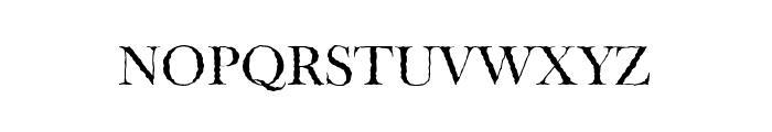 Tipo GraphiaMedium Font UPPERCASE