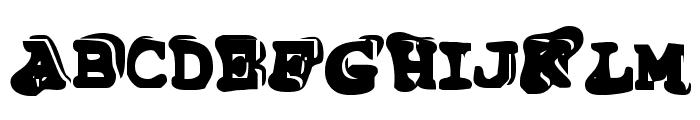 TiptonianRegular Font UPPERCASE