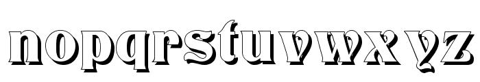 Titania Shadow Font LOWERCASE