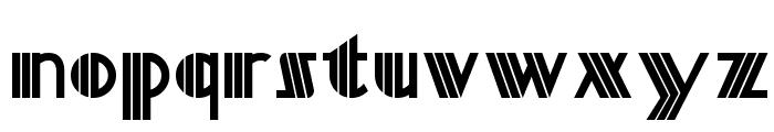 Titanick Display NF Font LOWERCASE