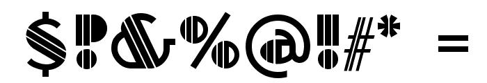 Titanick-Display Font OTHER CHARS
