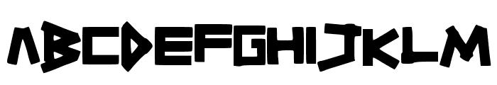 TitikTapettf Font UPPERCASE