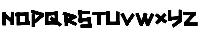TitikTapettf Font LOWERCASE