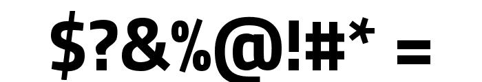 Titillium Web Bold Font OTHER CHARS