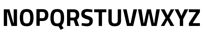 Titillium Web Bold Font UPPERCASE