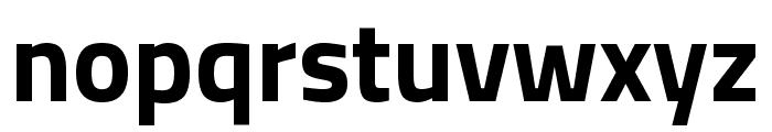 Titillium Web Bold Font LOWERCASE