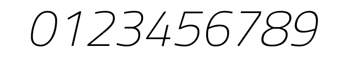Titillium Web ExtraLight Italic Font OTHER CHARS
