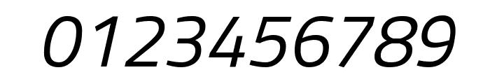 Titillium Web Italic Font OTHER CHARS