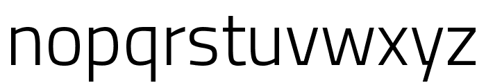 Titillium Web Light Font LOWERCASE
