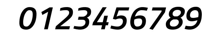 Titillium Web SemiBold Italic Font OTHER CHARS