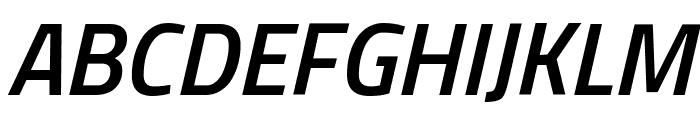 Titillium Web SemiBold Italic Font UPPERCASE
