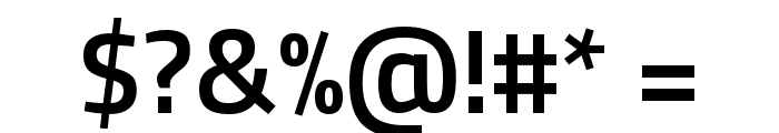 Titillium Web SemiBold Font OTHER CHARS