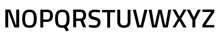 Titillium Web SemiBold Font UPPERCASE
