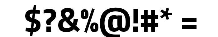 Titillium WebBold Font OTHER CHARS