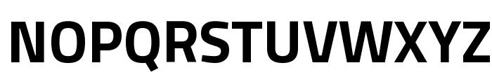 Titillium WebBold Font UPPERCASE