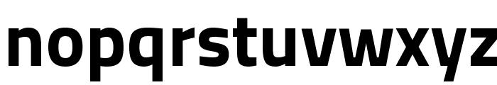 Titillium WebBold Font LOWERCASE