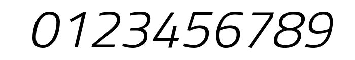 Titillium WebLight Italic Font OTHER CHARS