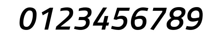 Titillium WebSemiBold Italic Font OTHER CHARS