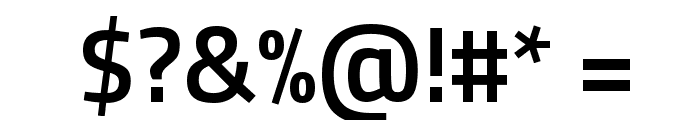 Titillium WebSemiBold Font OTHER CHARS