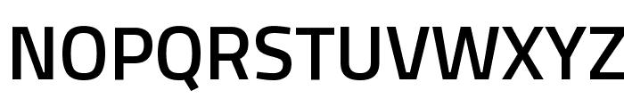Titillium WebSemiBold Font UPPERCASE