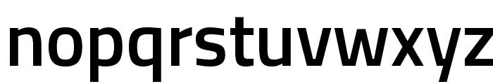 Titillium WebSemiBold Font LOWERCASE