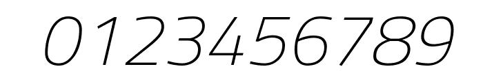 Titillium WebThin Italic Font OTHER CHARS