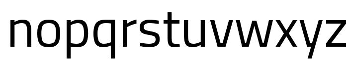 Titillium Web Font LOWERCASE