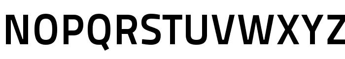 TitilliumMaps29L-800wt Font UPPERCASE