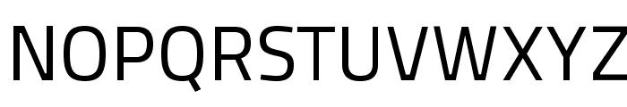 TitilliumText22L-400wt Font UPPERCASE
