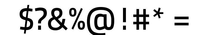 TitilliumText22L-600wt Font OTHER CHARS