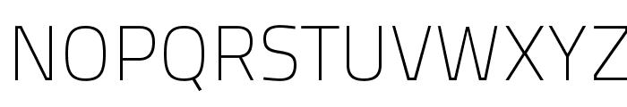 TitilliumText25L-1wt Font UPPERCASE