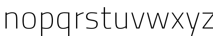 TitilliumText25L-1wt Font LOWERCASE