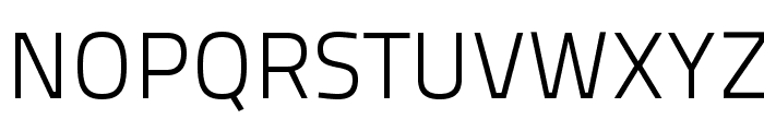 TitilliumText25L-250wt Font UPPERCASE