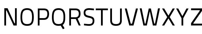 TitilliumText25L-400wt Font UPPERCASE