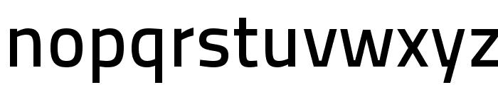 TitilliumText25L-600wt Font LOWERCASE